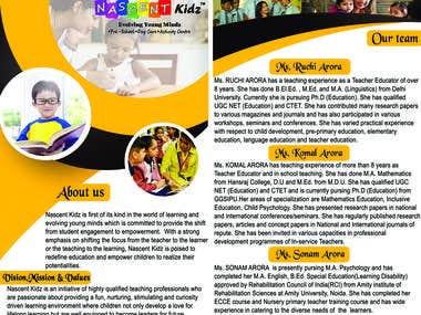 Kidz Brochure Design