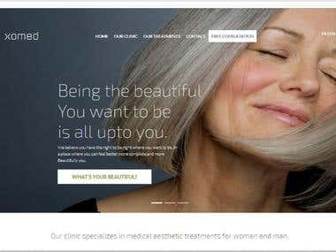 Clinical Website Theme