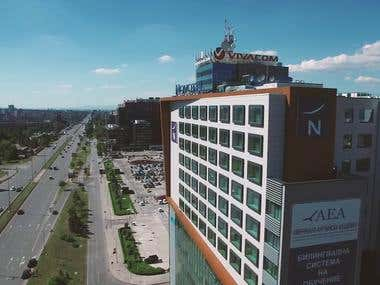 Hotel Novotel Sofia commercial video