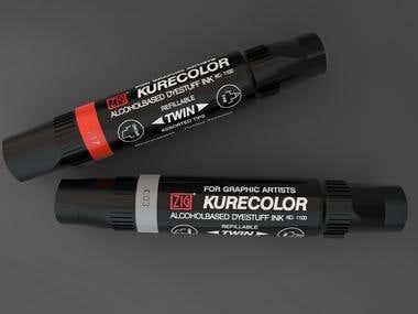 Kurecolor twin marker