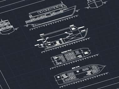 Passenger Ship (Wooden Materials)