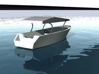 Dive Boat (Fiberglass Materials)