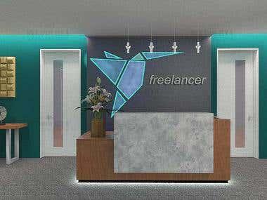 Design of Office Reception
