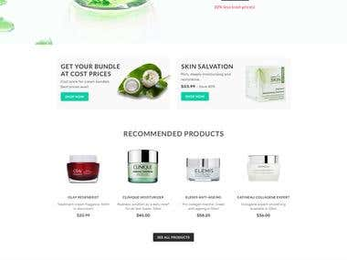 Atcostcosmetics Ecommerce Website