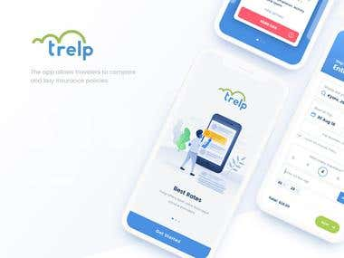 Trelp Insurance App Development