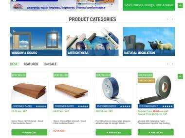 Ecommerce site on Magento