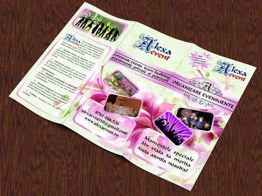 Brochure special event management