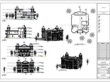 REVIT project sheet