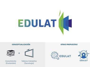 Rediseño de logo y web: EDULAT