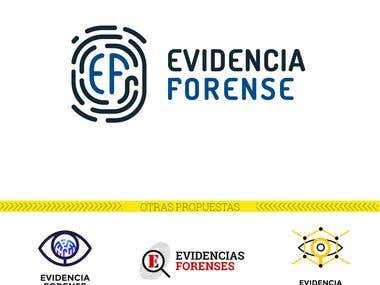 Diseño de Logo, Papelería y Web: Evidencia Forense