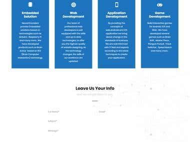 Neural Encoders Wordpress Website