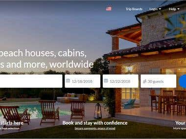 Tourism & Travelling Booking Website