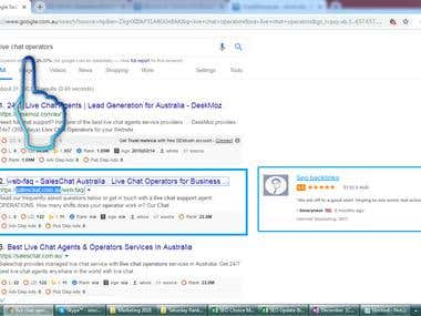 Top 2 Rank in Google.com.au