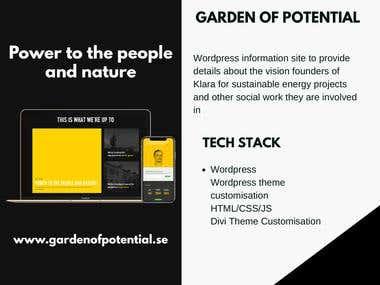 Garden of Potential