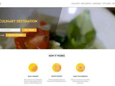 Responsive Web site building