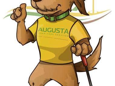 DOG MASCOT - Illustration