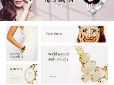 Jewelry Fit eCommerce Store