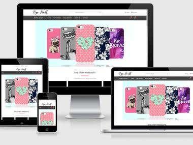 eCommerce Website in Laravel