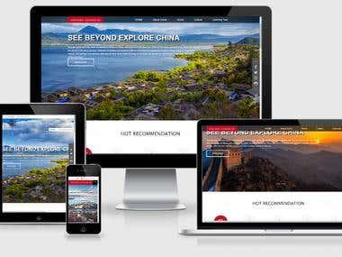 Tour Listing Website in Wordpress