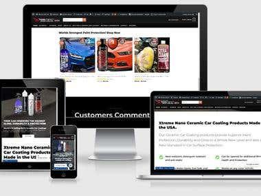 eCommerce Wesbite in Wordpress