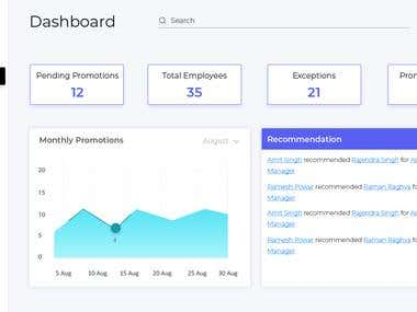 Custom Web Dashboard