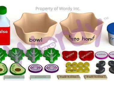 Wordy Toys designs