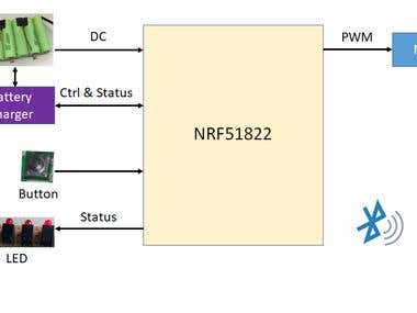 nRF51822 BLE Motor Controller