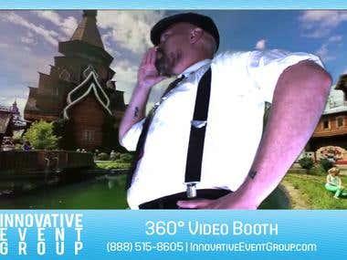 Multi camera application - Time freeze video creation