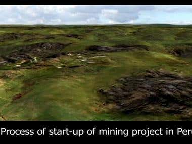 Process of start-up of mining project in Peru