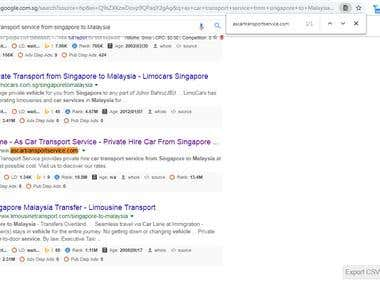 Get 1st Page Ranking On Google Singapore