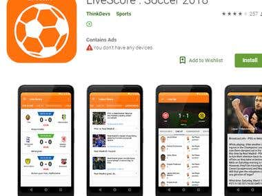LiveScore App Development