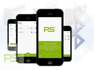 PSLocks - Mobile Bluetooth App