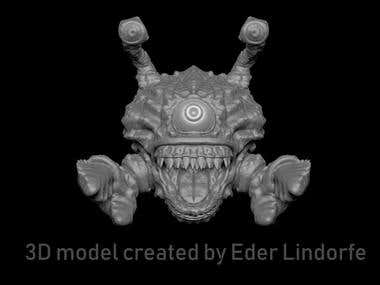 Eye of the Deep 3D model