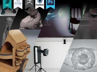3D Designs - collection -01