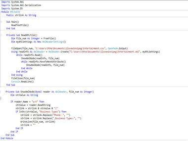 VB.NET Code