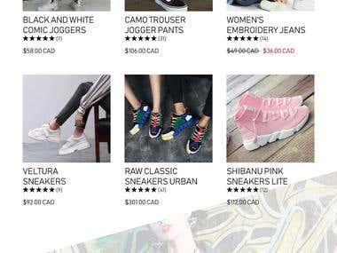 Online store - Terra