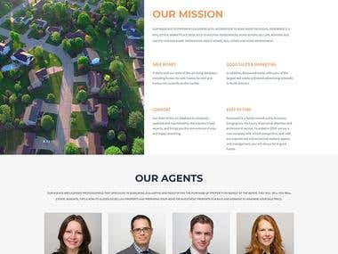 WordPress - Rosewood real estate