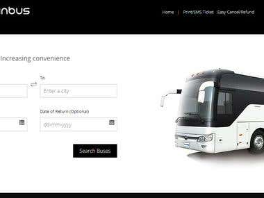 Bus Booking System https://ominbus.com/