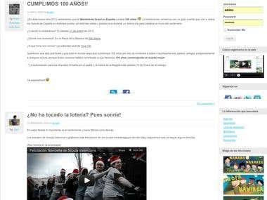 Wordpress Website with BuddyPress