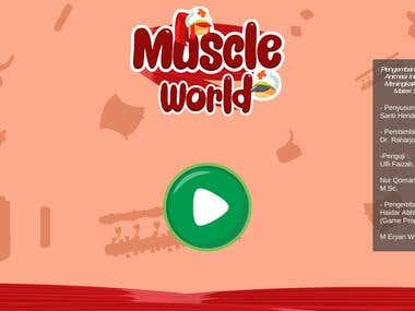 Android Biology Educational Game (Muscle World)