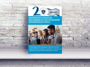 Poster from the Catholic University of Mozambique