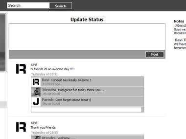 social networking website in asp.net/c#