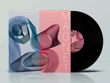 MAGNET Vinyl album design