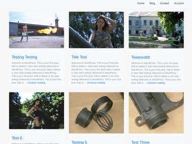 Jazsi: Bootstrap 4 Wordpress Theme