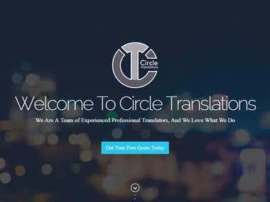 Circletranslations