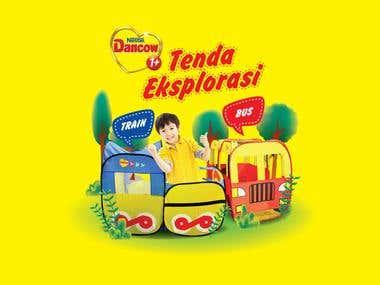 Dancow 'Tenda Eksplorasi'