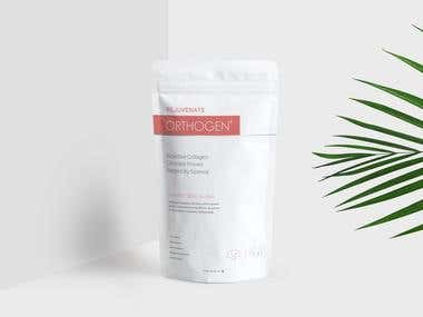 Collagen Packaging design