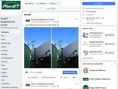 Social Media Managment - Facebook