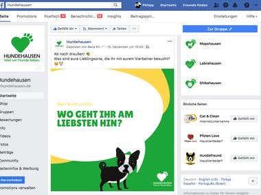 Social Media Management - Facebook