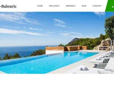 Villa Rental Website